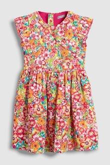 Next Bright Floral Dress (3-16yrs)