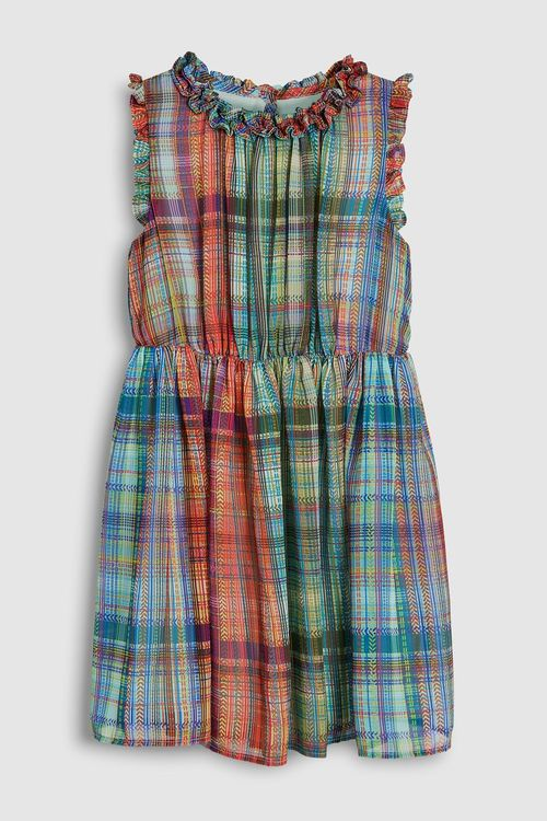 Next Soft Check Dress (3-16yrs)