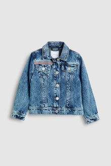 Next Denim Embellished Jacket (3-16yrs)