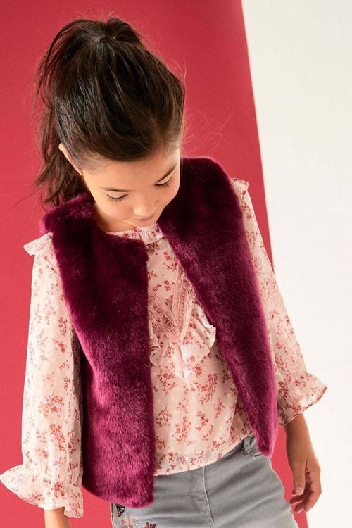 Next Faux Fur Gilet (3-16yrs)