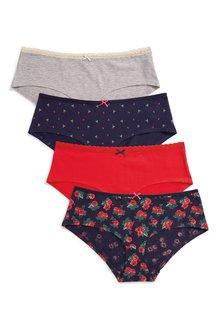 Next Cotton Shorts Four Pack