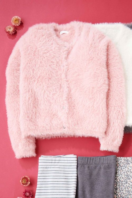 Next Fluffy Cardigan (3-16yrs)