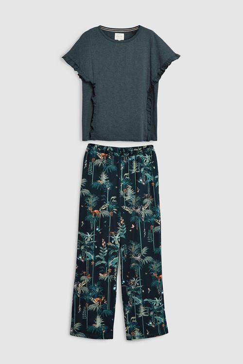 Next Jungle Print Pyjamas