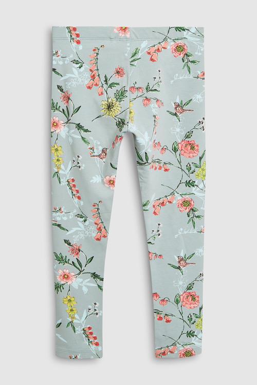 Next Floral Leggings Three Pack (3-16yrs)