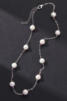 By Fairfax & Roberts Real Pearls Modern Twist Classic Necklace - 217182