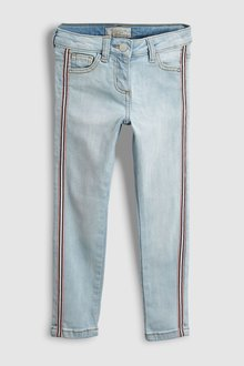 Next Side Tape Skinny Jeans (3-16yrs)