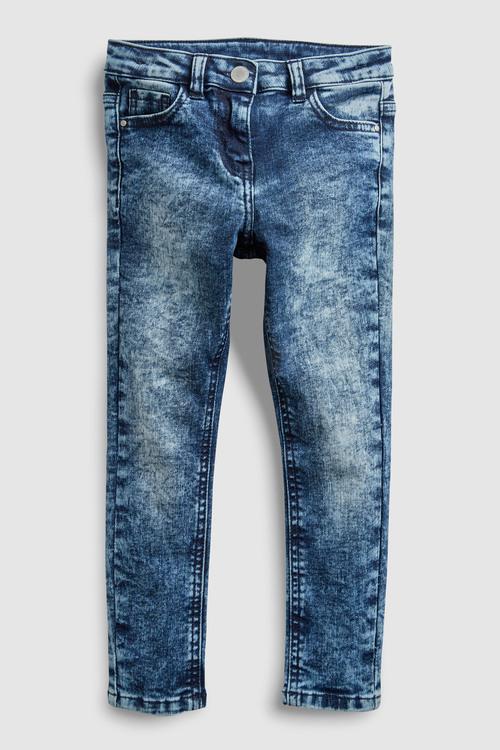 Next Snow Wash Skinny Jeans (3-16yrs)