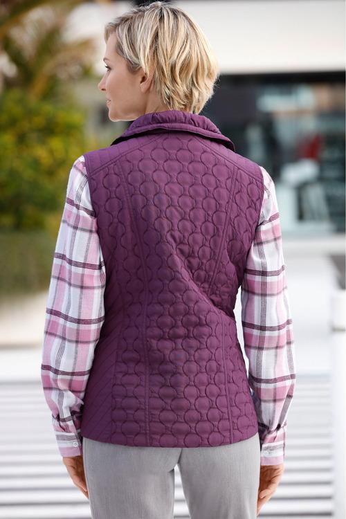 Capture European Puffer Vest