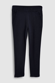 Next Frill Pocket Ponte Trousers (3-16yrs)