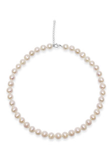 By Fairfax & Roberts Real Everyday Classic Pearl Short Necklace - 217260