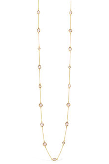 By Fairfax & Roberts Real Gemstone Long Necklace - 217261