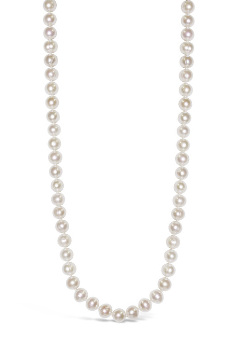 By Fairfax & Roberts Real Everyday Classic Pearl Long Necklace