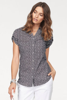 Urban Printed Short Sleeve Shirt - 217281