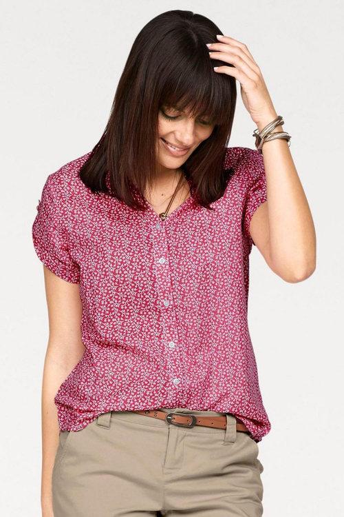 Urban Printed Short Sleeve Shirt