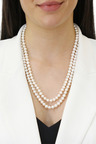 By Fairfax & Roberts Real Everyday Classic Pearl Opera Necklace
