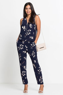 Urban Zip Front Jumpsuit