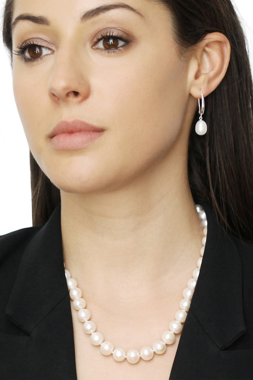 By Fairfax & Roberts Real Everyday Classic Pearl Drop Earring