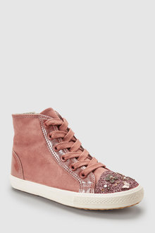 Next Embellished High Tops (Older)