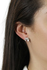 By Fairfax & Roberts Real Gemstone Stud Earrings