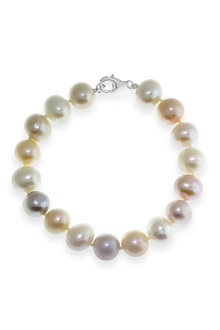 By Fairfax & Roberts Real Everyday Classic Pearl Bracelet - 217320