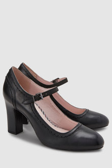 Next Leather Mary Jane Shoes