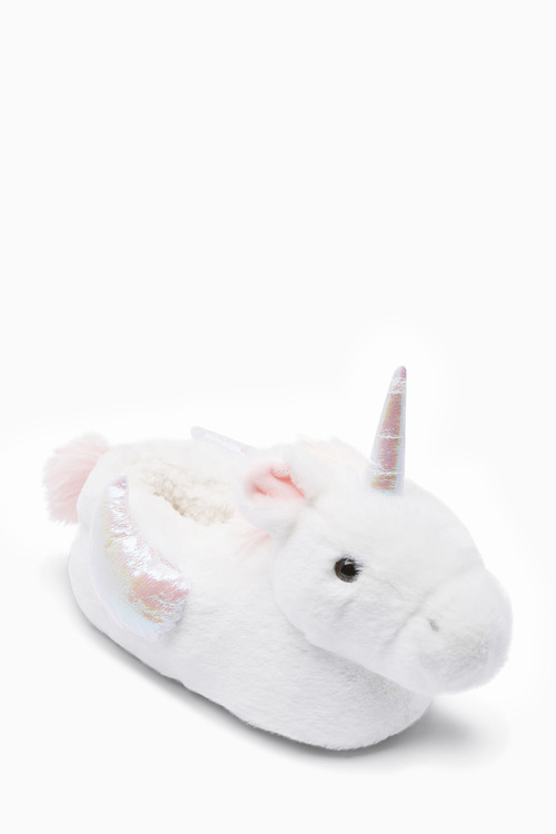 Next 3D Unicorn Slippers (Older)