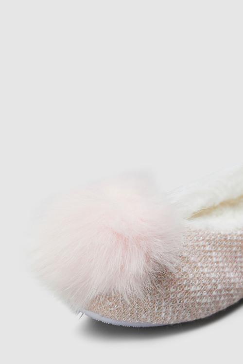 Next Pom Pom Ballet Slippers (Older)