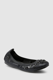 Next Flexi Flower Ballerinas (Older) - 217361