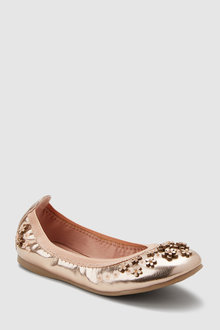 Next Flexi Flower Ballerinas (Older)