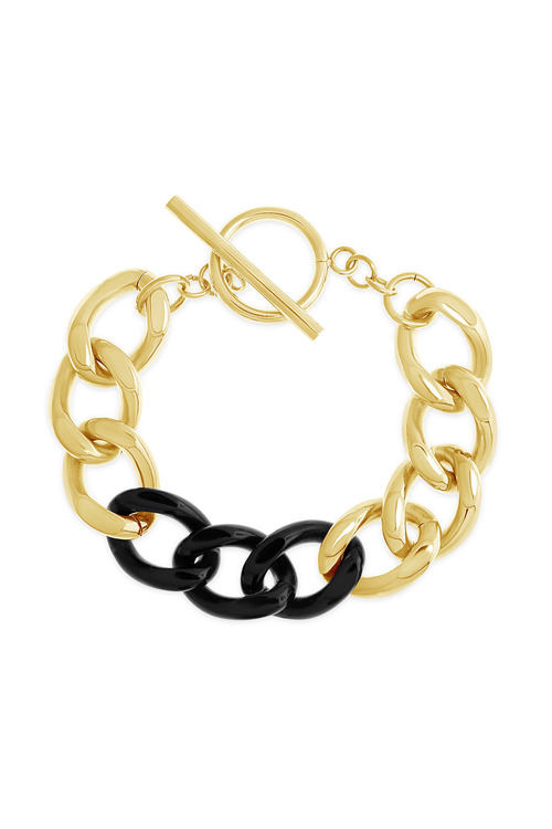 By Fairfax & Roberts Contemporary Link Bracelet