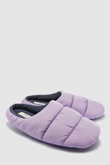 Next Quilted Mule Slippers