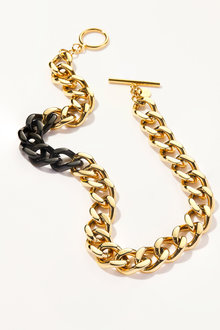 By Fairfax & Roberts Contemporary Link Short Necklace - 217384