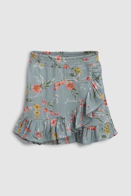 Next Frill Tie Skirt (3-16yrs)