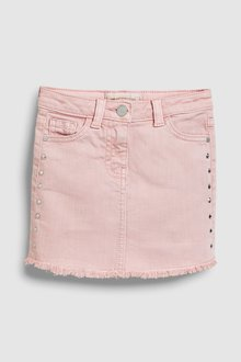 Next Denim Stud Skirt (3-16yrs)