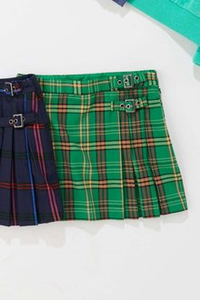 Next Check Kilt Skirt With Tights (3-16yrs)
