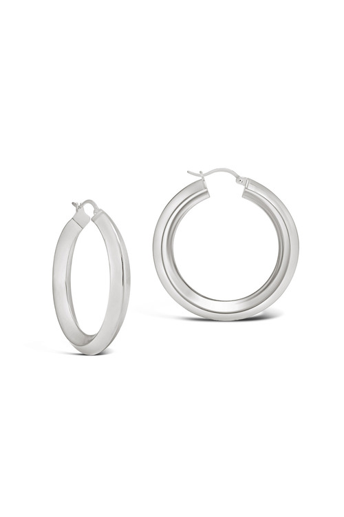 By Fairfax & Roberts Contemporary Hoop Earring