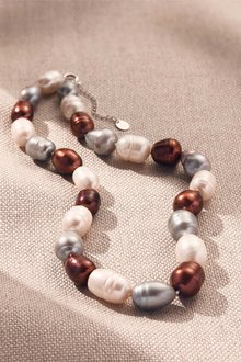 By Fairfax & Roberts Real Baroque Pearl Classic Necklace - 217435