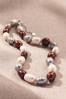 By Fairfax & Roberts Real Baroque Pearl Classic Necklace