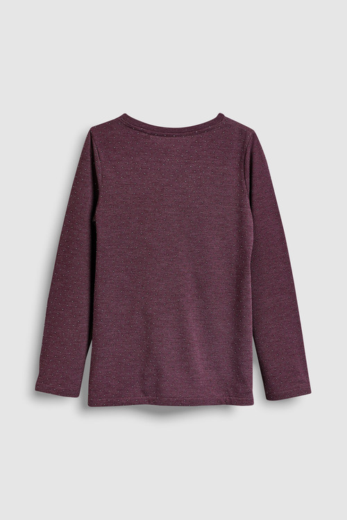 Next Long Sleeve Twist Front T-Shirt (3-16yrs)