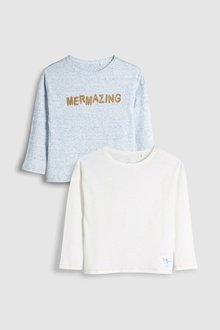 Next Long Sleeve Tops Two Pack (3-16yrs)