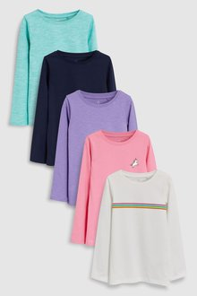 Next Long Sleeve T-Shirts Five Pack (3-16yrs)