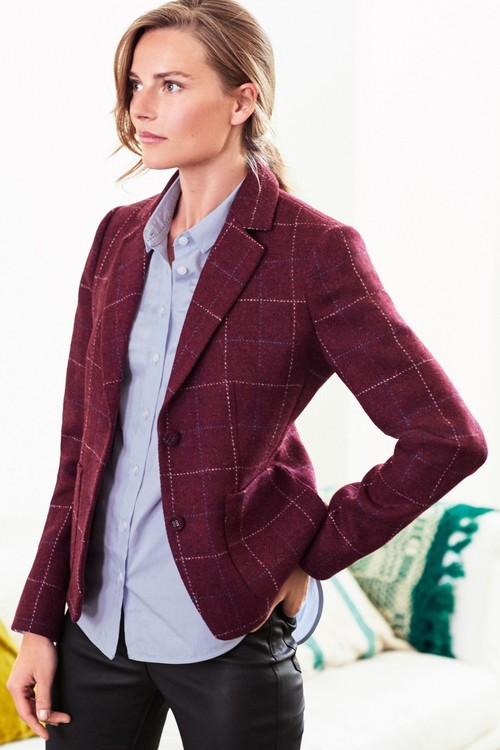 Next Harris Tweed Blazer