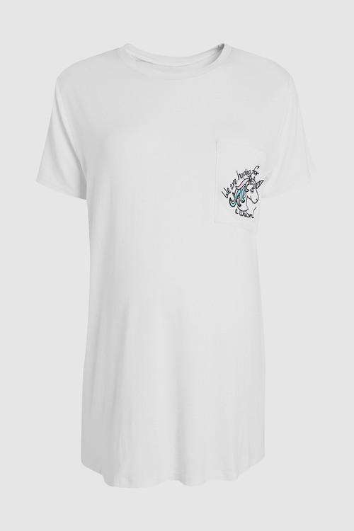 Next Maternity Unicorn T-Shirt