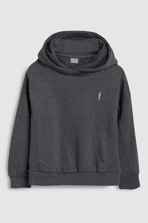 Next Hoody With Lightning Embroidery (3-16yrs)