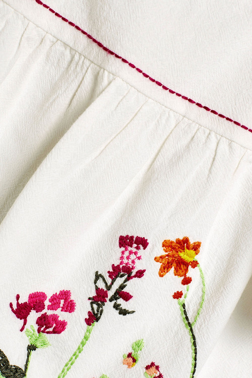 Next Embroidered Blouse (3-16yrs)