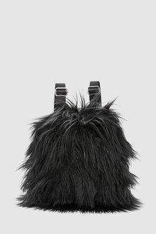 Next Faux Fur Rucksack