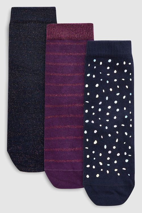 Next Sparkle Socks Three Pack (Older)
