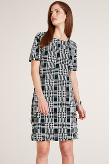 Heine Shift Check Dress - 217707