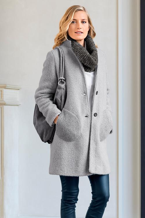 b603436cc2 Heine Wool Blend Coat