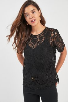 Next Lace Top